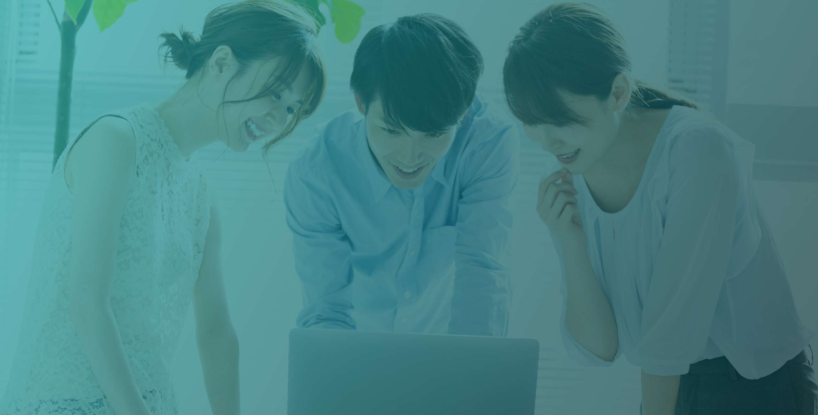 WEBデザイン会議中のイメージ
