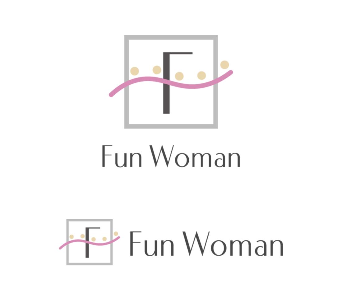 イメージコンサルティングサロン Fun Woman様ロゴデザイン